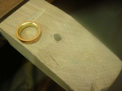 Die Goldwerkstatt von Nadine Timmer - Hochzeitsringe selber schmieden