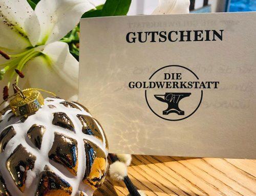Schmuck Gutschein in Köln von der Goldwerkstatt